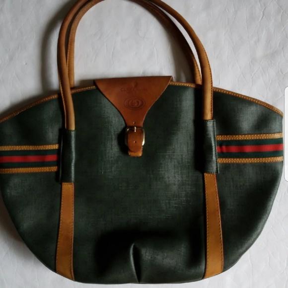 8f6087d931b Gucci Handbags - vintage Gucci tote big purse authentic